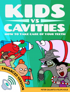 Red Cat Reading Kids vs Life Kids vs Cavities Book