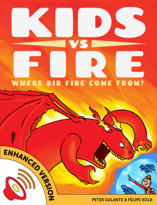 Red Cat Reading Kids vs Life Kids vs Fire Book