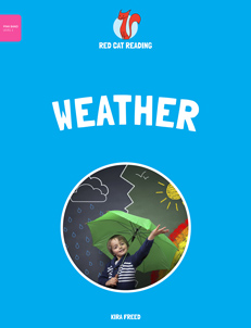 Red Cat Reading Level 1 Weather Book