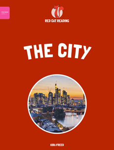 Red Cat Reading Level 1+ The City Book