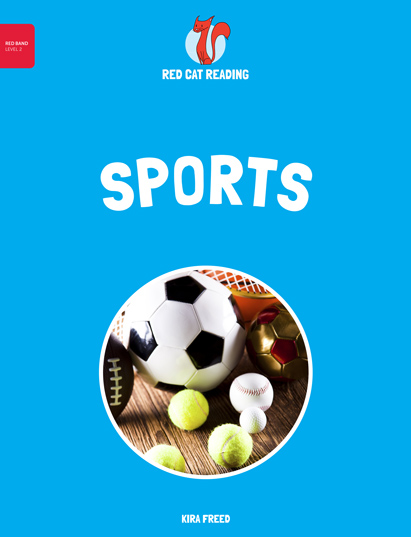 Red Cat Reading Level 2 Sports Book