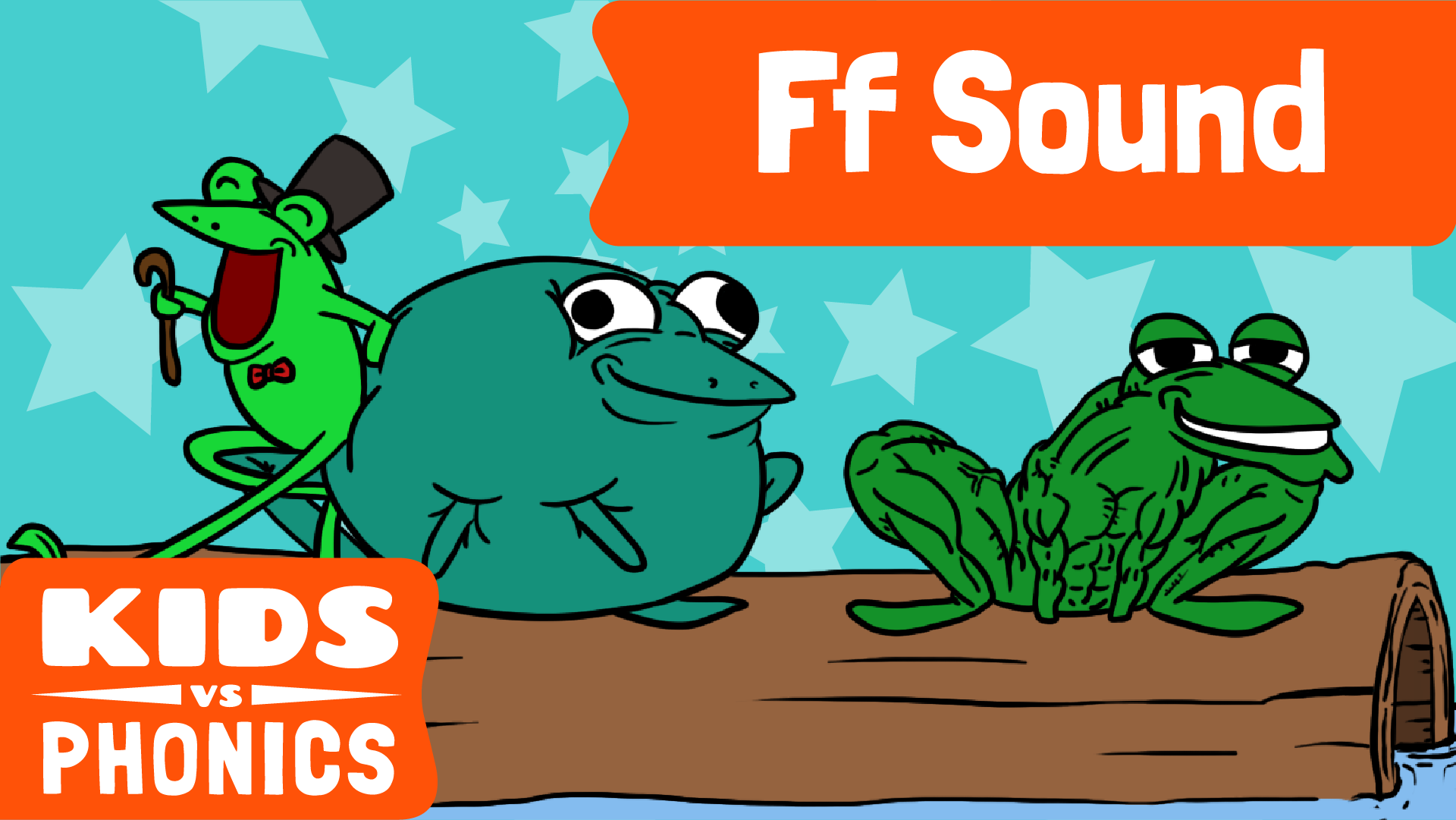 Red Cat Reading Kids vs Phonics F Sound Video