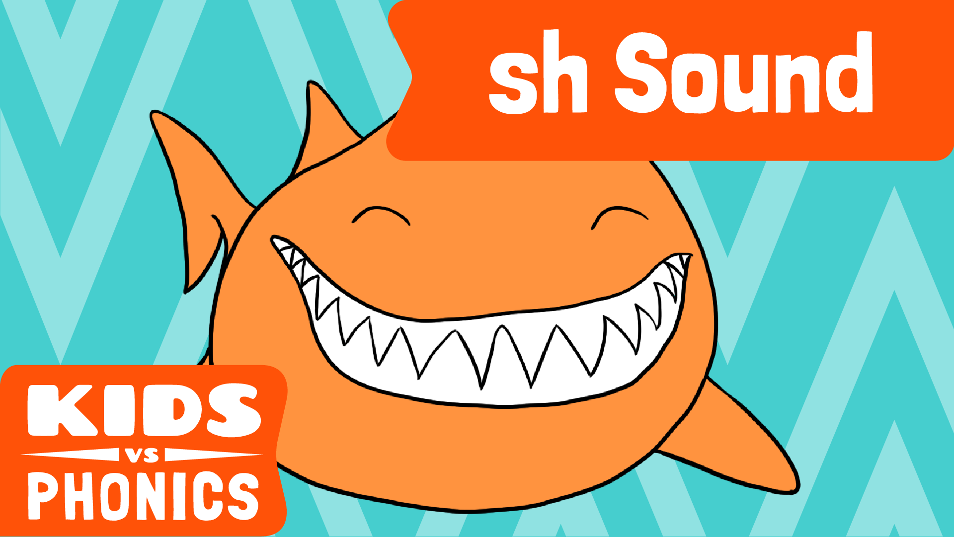 Red Cat Reading Kids vs Phonics SH Sound Video