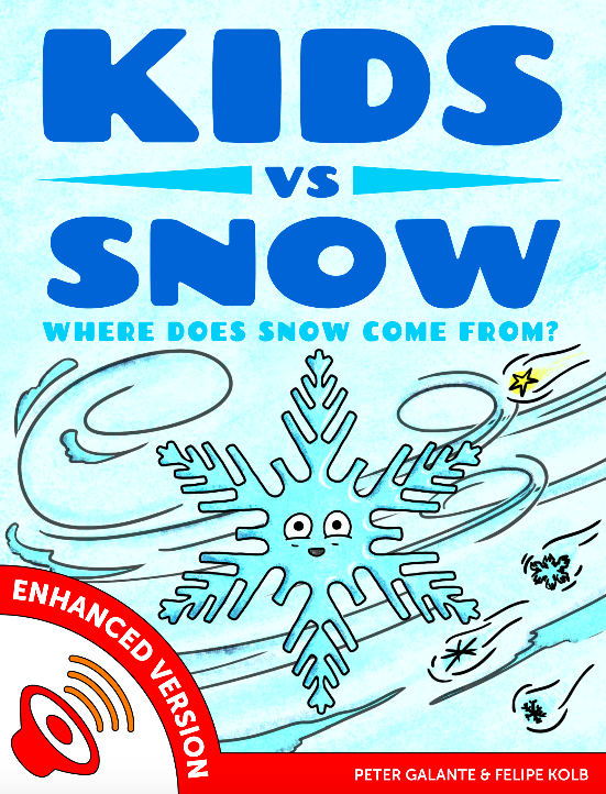Red Cat Reading Kids vs Life Kids vs Snow Book