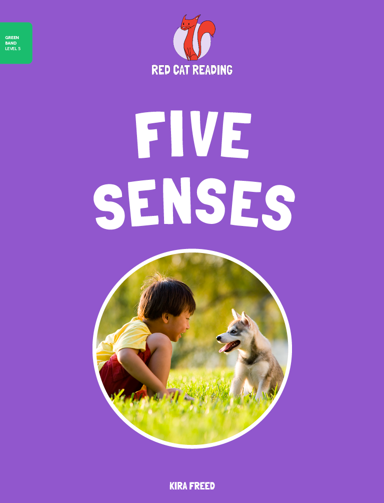 Red Cat Reading Level 5 Five Senses Book