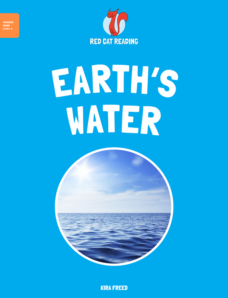 Red Cat Reading Level 6 Earth's Water Book