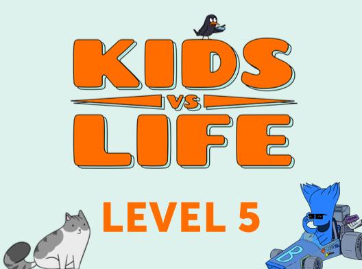 Red Cat Reading: Kids vs Life Level 5