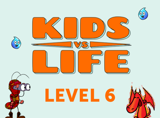 Red Cat Reading: Kids vs Life Level 6
