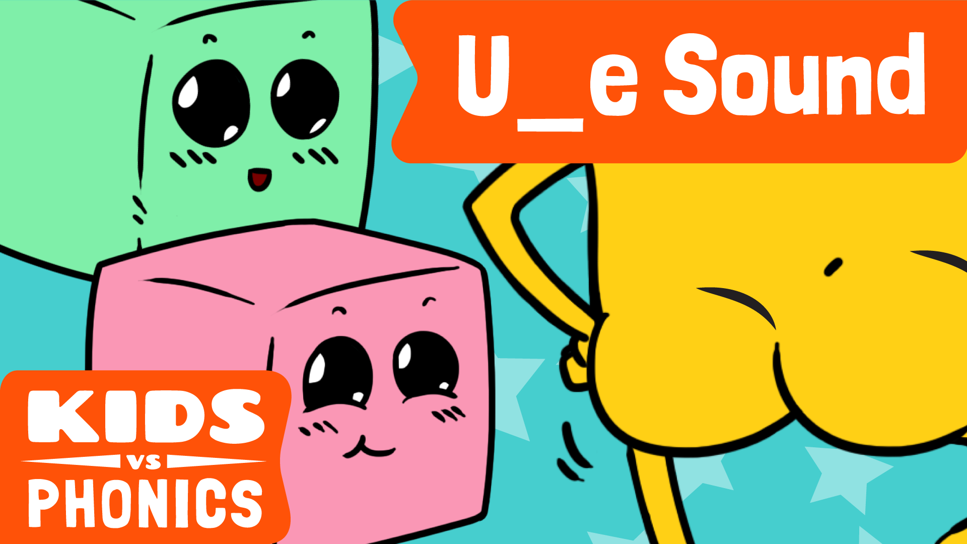 Red Cat Reading Kids vs Phonics 'u_e' Sound