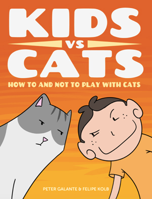 Red Cat Reading Kids vs Life Kids vs Cats Book