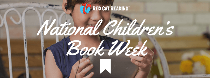 national children's book week children kids reading red cat reading learn to read phonics online reading program