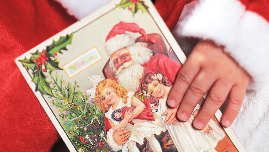 Red Cat Reading: Christmas Holidays Activities for Kids Letter to Santa