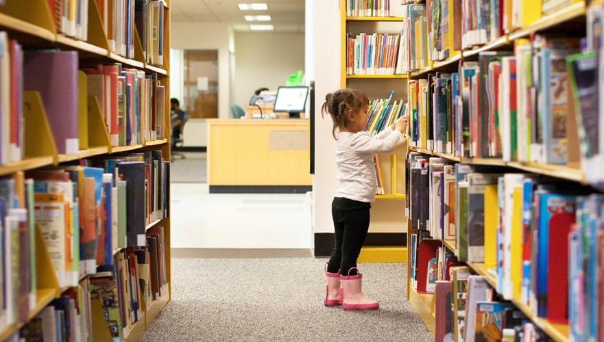 Red Cat Reading National Children's children's books Library reading