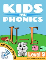 Red Cat Reading Kids vs Phonics Magic E U_E Sound