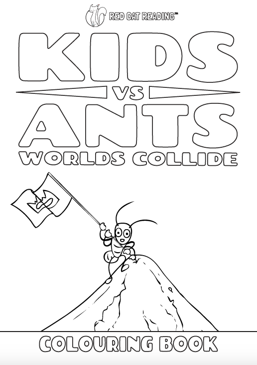 Red Cat Reading Kids vs Life Kids vs Ants Worksheet
