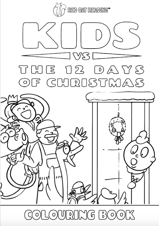 Red Cat Reading Kids vs Life Kids vs Christmas Worksheet