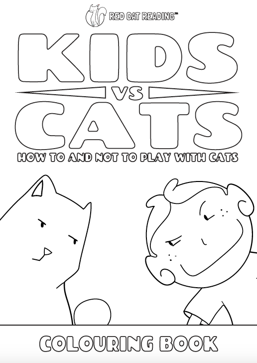 Red Cat Reading Kids vs Life Kids vs Cats Worksheet
