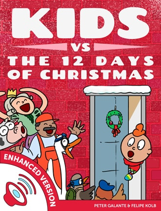 Red Cat Reading Kids vs Life the 12 Days of Christmas Book