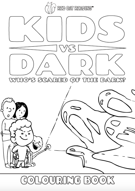 Red Cat Reading Kids vs Life Kids vs Dark Worksheet