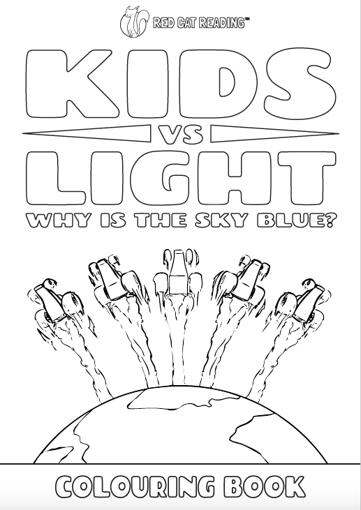 Red Cat Reading Kids vs Life Kids vs Light Worksheet