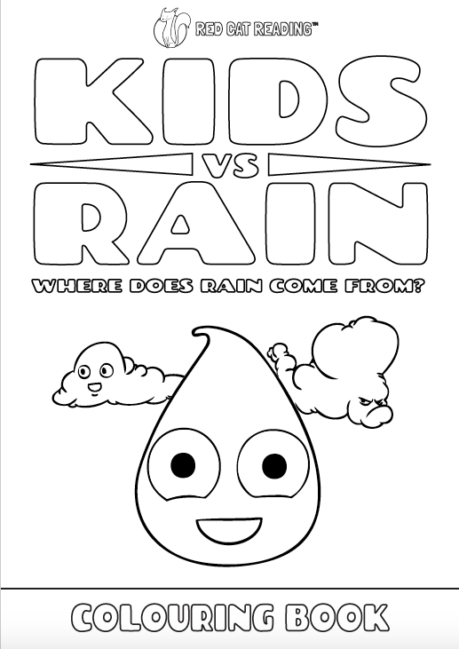Red Cat Reading Kids vs Life Kids vs Rain Worksheet