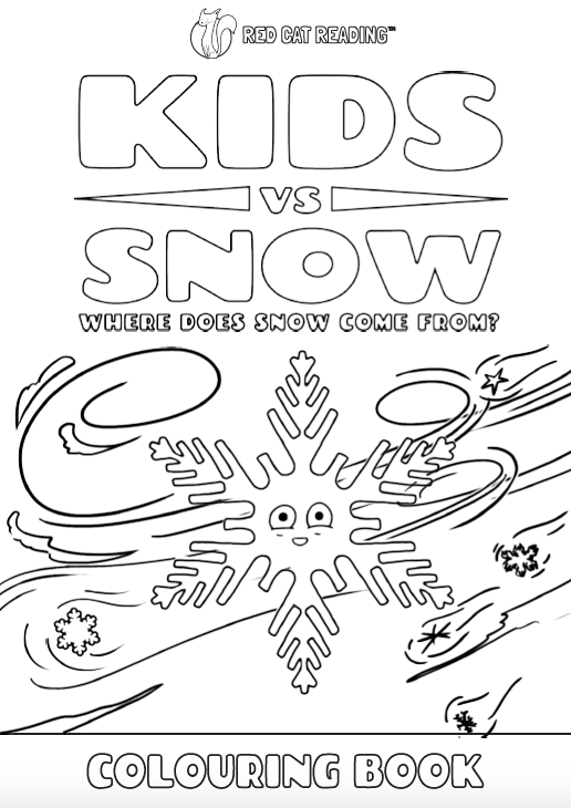 Red Cat Reading Kids vs Life Kids vs Snow Worksheet