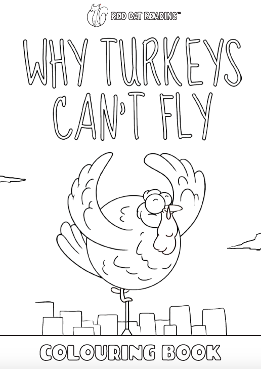 Red Cat Reading Kids vs Life Kids vs Thanksgiving Why Turkeys Can't Fly Worksheet