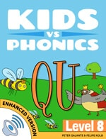 Red Cat Reading Kids vs Phonics QU Sound