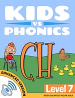 Red Cat Reading Kids vs Phonics CH Sound