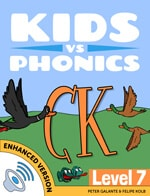 Red Cat Reading Kids vs Phonics CK Sound