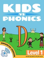 Red Cat Reading Kids vs Phonics D Sound