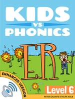 Red Cat Reading Kids vs Phonics ER Sound
