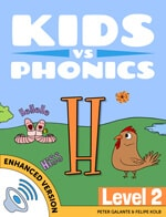 Red Cat Reading Kids vs Phonics H Sound