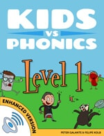 Red Cat Reading Kids vs Phonics Level 1 Complete