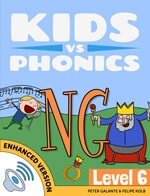 Red Cat Reading Kids vs Phonics NG Sound