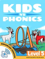Red Cat Reading Kids vs Phonics OA Sound