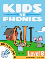 Red Cat Reading Kids vs Phonics OU Sound