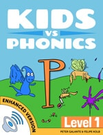 Red Cat Reading Kids vs Phonics P Sound