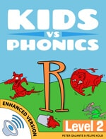 Red Cat Reading Kids vs Phonics R Sound