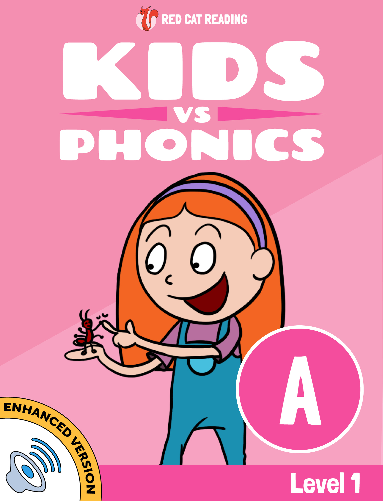 Red Cat Reading Kids vs Phonics Phonic A Sound Level 1 Learn to Read