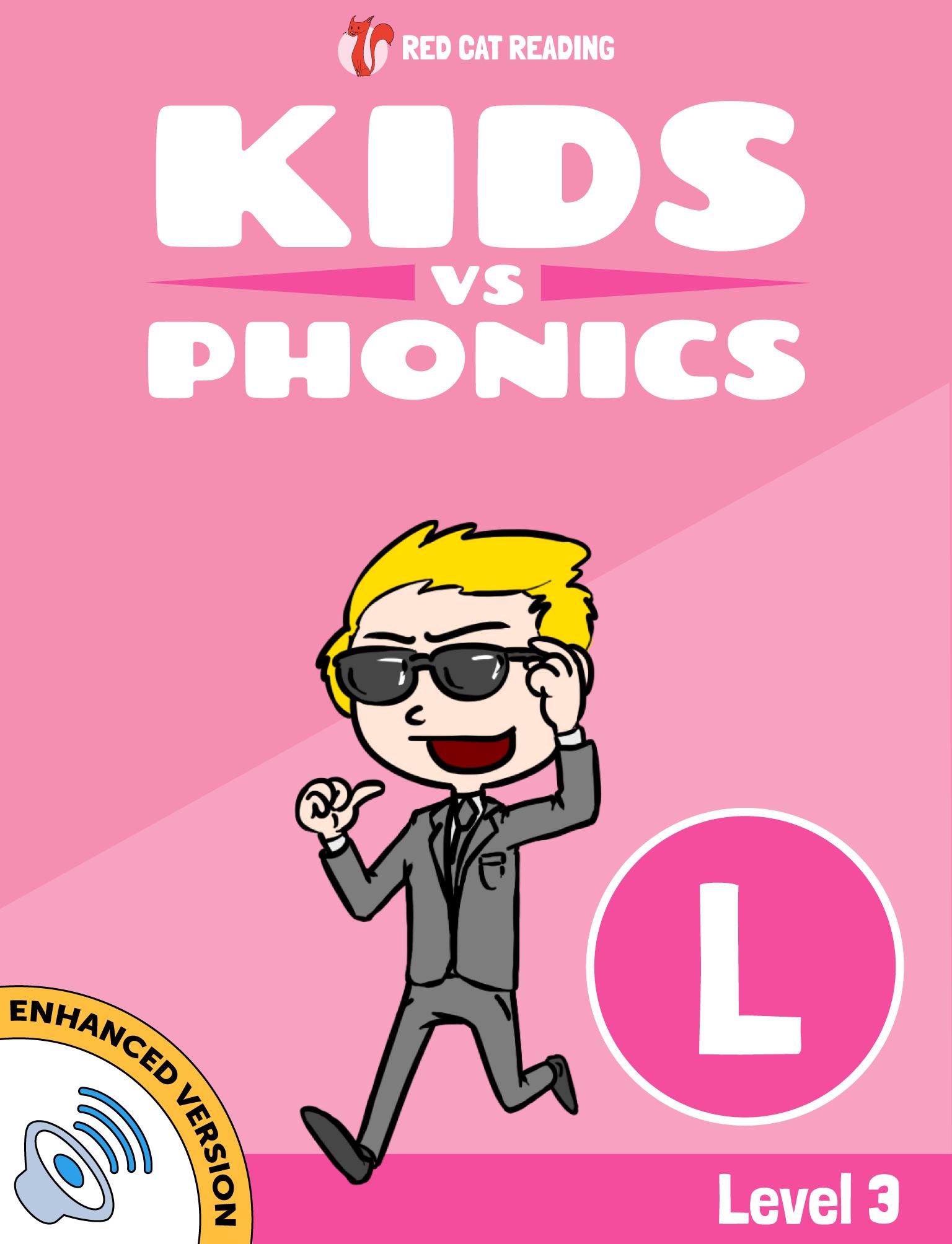Red Cat Reading Kids vs Phonics Level 3 Phonics L Sound