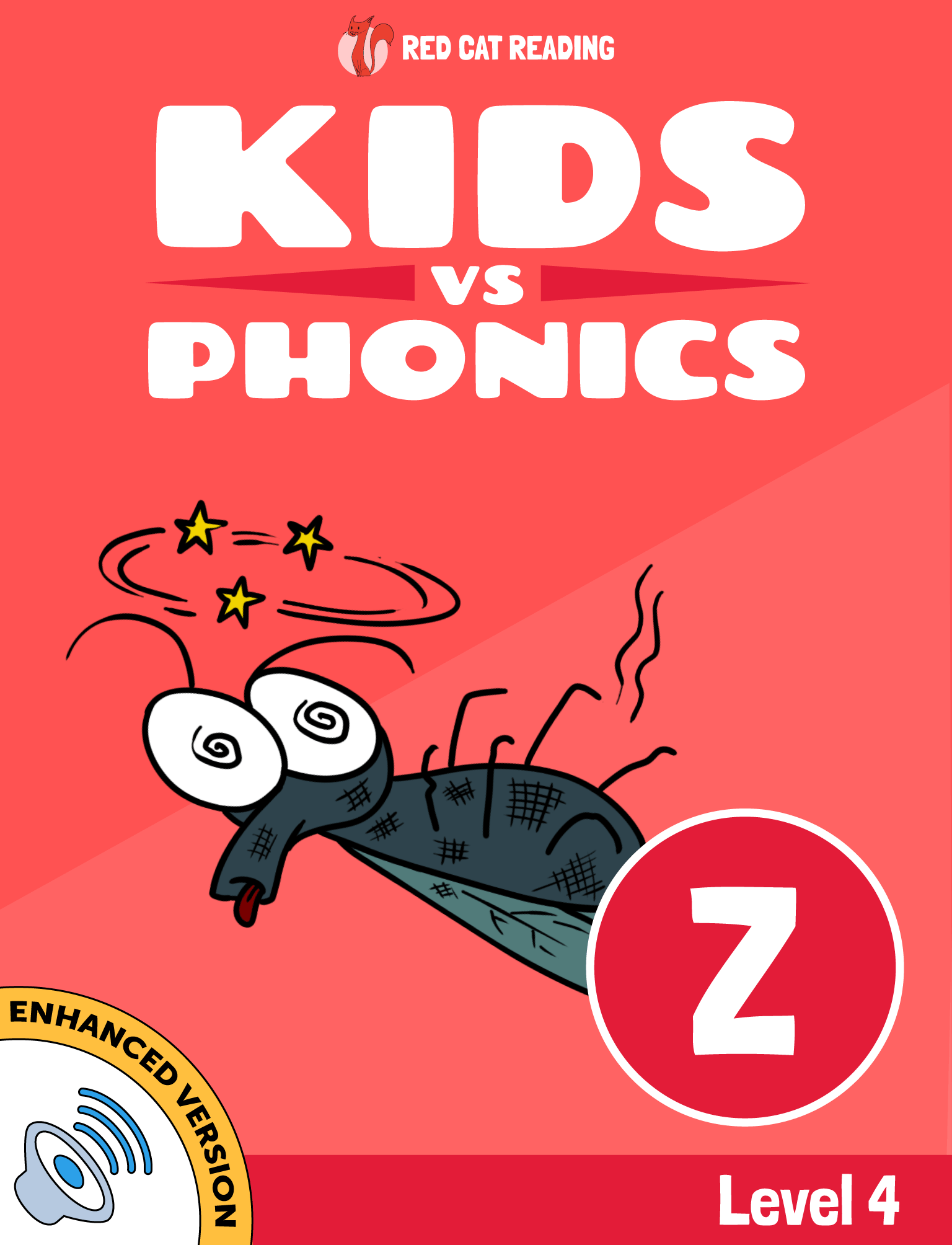 Red Cat Reading Kids vs Phonics Level 4 Phonics Z Sound