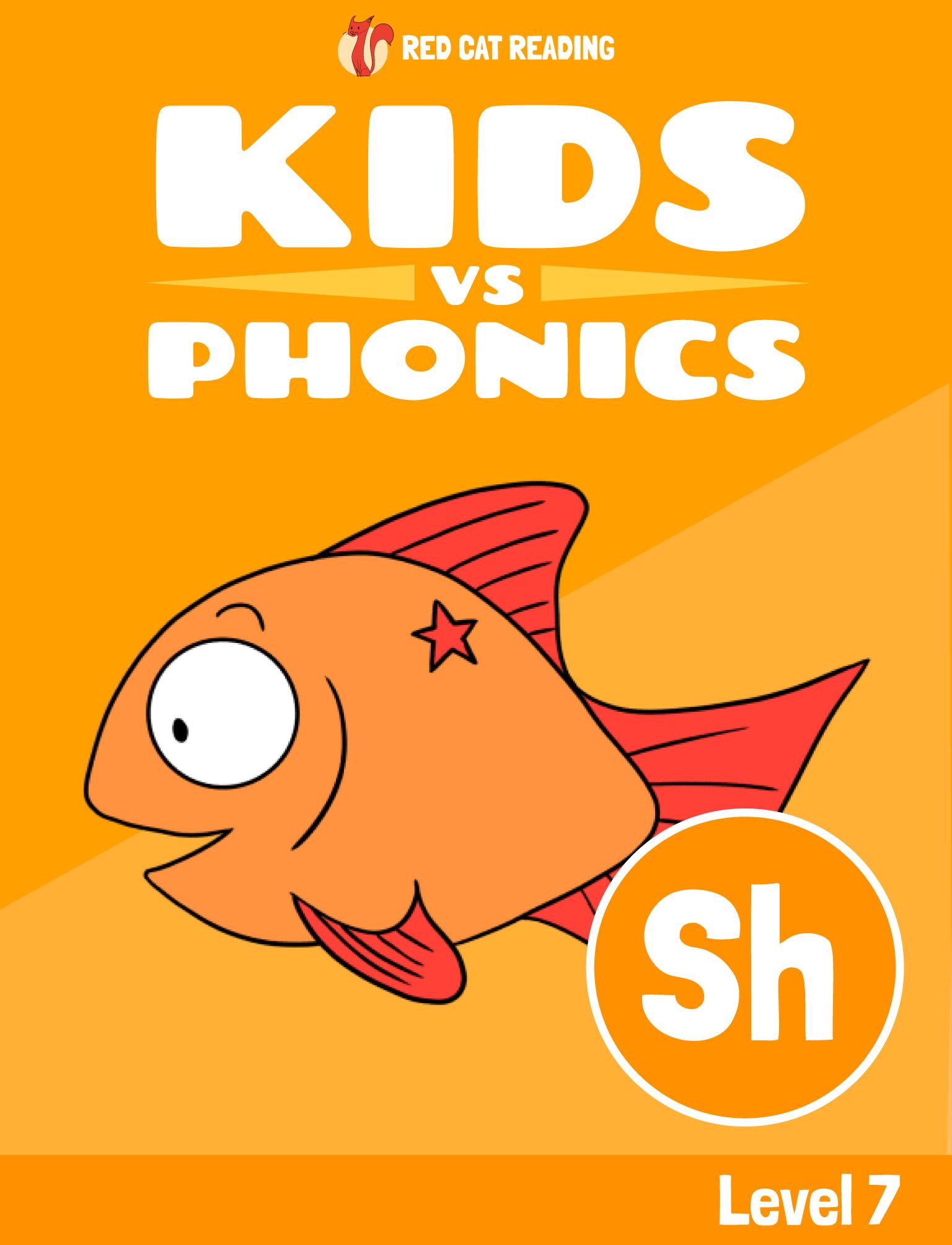 Red Cat Reading Kids vs Phonics Phonics Sound SH Kids Learn to Read