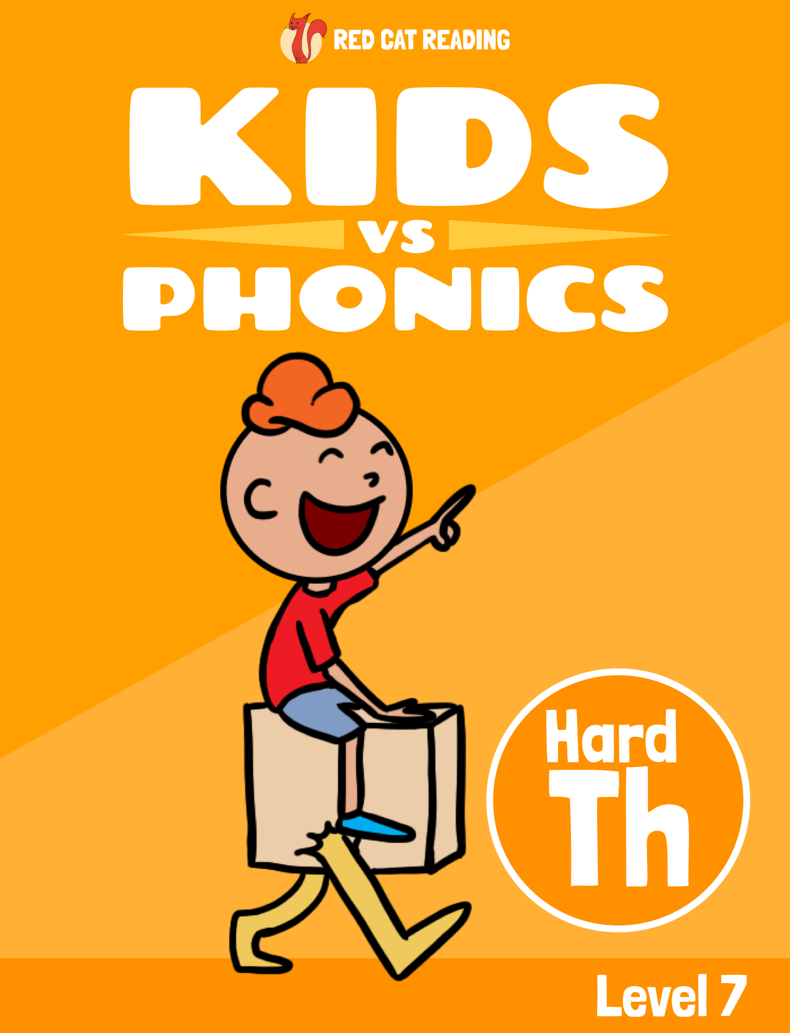 Red Cat Reading Kids vs Phonics Phonics Sound TH (hard) Kids Learn to Read