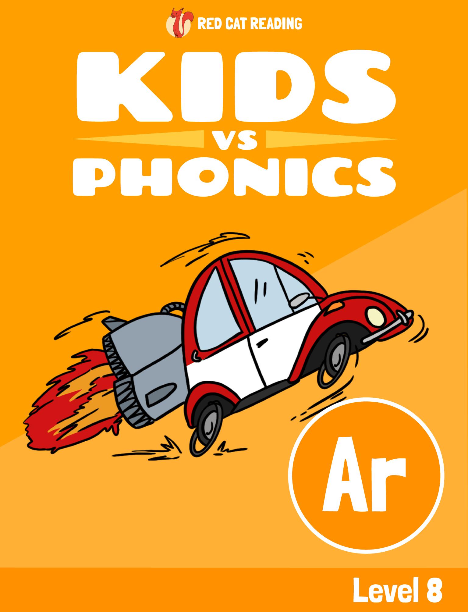 Red Cat Reading Kids vs Phonics Phonics Sound AR Kids Learn to Read