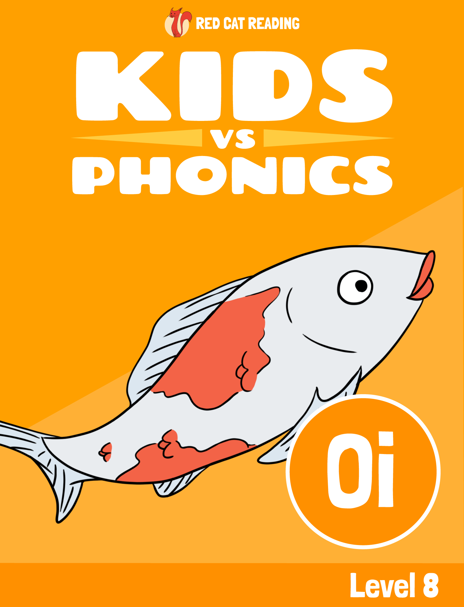 Red Cat Reading Kids vs Phonics Phonics Sound OI Kids Learn to Read