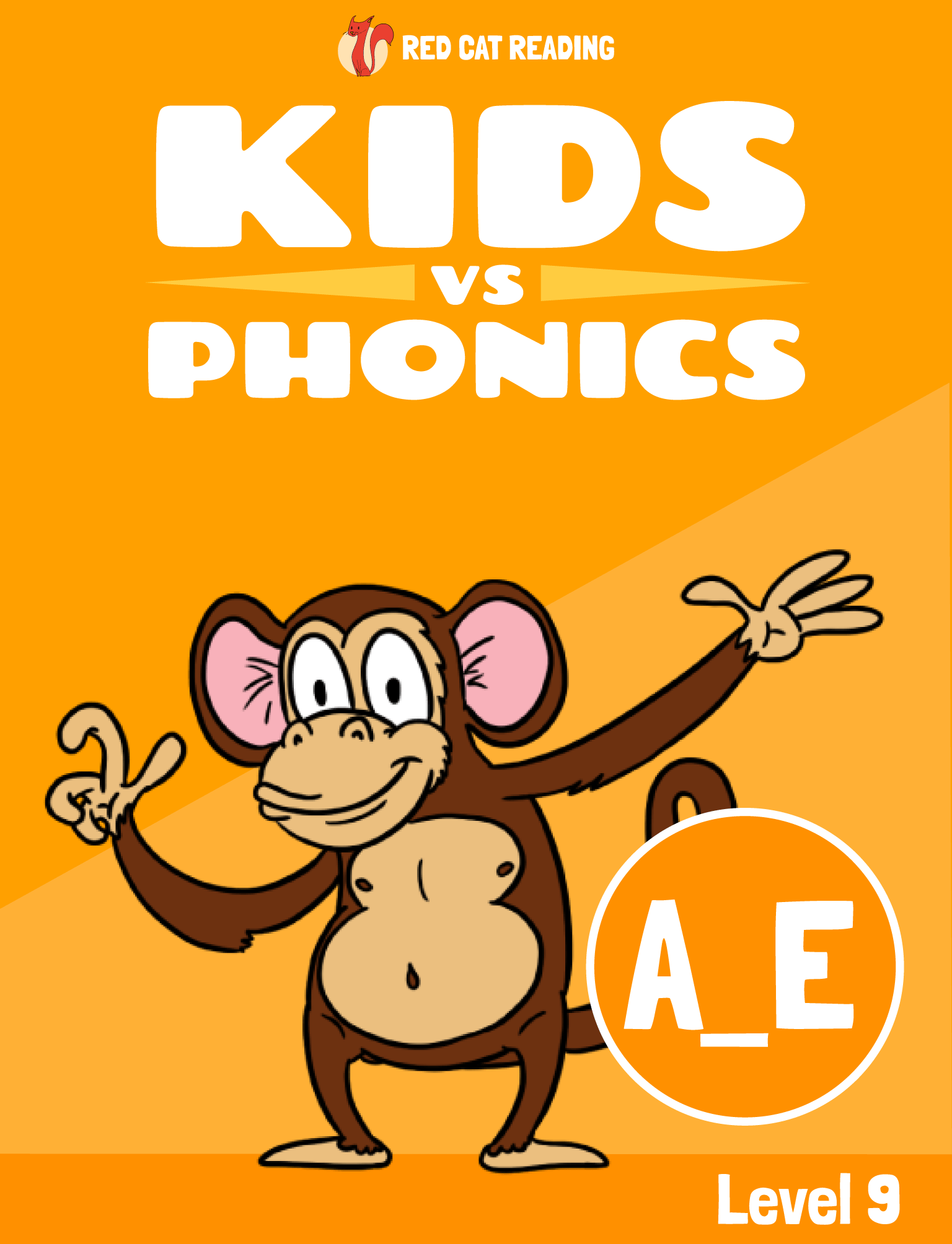 Red Cat Reading Kids vs Phonics Phonics Sound A_E Kids Learn to Read