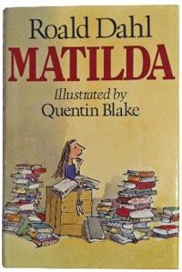 Red Cat Reading Top 6 Kids Authors Roald Dahl Matilda_1