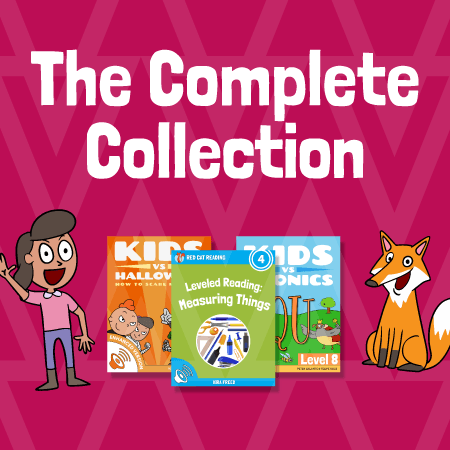 Red Cat Reading the complete collection children's books kids learn to read