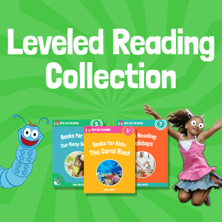 Red Cat Reading the leveled reading collection children's books kids learn to read